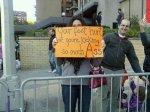 NY Marathon Sign