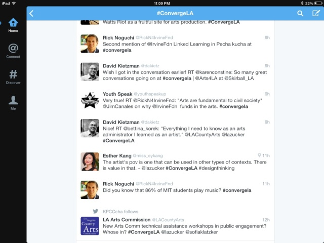 ConvergeLA tweets